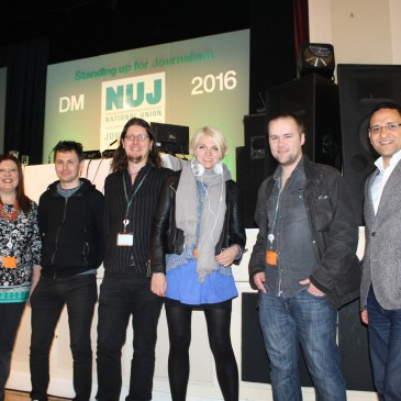 LIBNM branch delegation to NUJ DM 2016