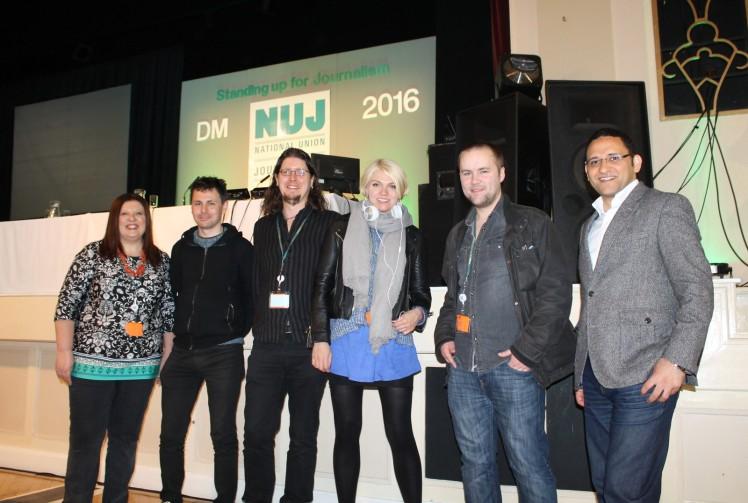 LIBNM branch delegation to NUJ DM 2016